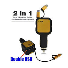 Ptron Dynamite 4.8A Caricabatterie USB Rapido per Auto Universale Iphone Android