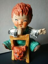 "Goebel Germany 4.5 inch figurine ""The Kibitzer"" Red Head Boy Byj 23"