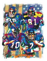 Purple People Eaters, Minnesota Vikings, Football, Sports, 8.5x11 PRINT w/COA