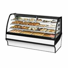 """True Tdm-Dc-77-Ge/Ge-S-W 77"""" Non-Refrigerated Bakery Display Case"""