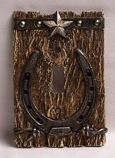 Western  Single Light Switch Plate/Cover Rustic Home & Cabin Decor (NCD)