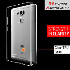 Huawei Ascend Mate 7 Cover Crystal Clear soft TPU Case For Huawei Ascend Mate 7