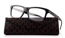 RARE NEW Genuine GUCCI Matte Black Designer Eye glass Frame Glasses GG 1045 ACZ