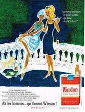 PUBLICITE ADVERTISING 014   1963   WINSTON   cigarettes 2