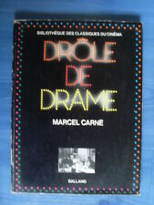 Marcel Carné DROLE DE DRAME découpage complet en photos ( Bazlland 1974 )