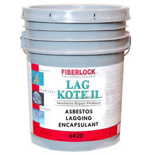 Fiberlock Lag Kote II Encapsulant Coating - Asbestos Abatement - 5 Gallon