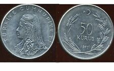 TURQUIE  50 kurus 1977  ( bis )