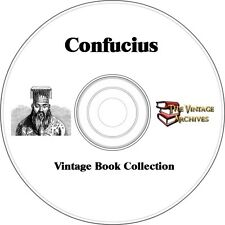 Confucius Vintage Book Collection on CD -  Philosophy