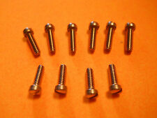 PENN FISHING REEL STAINLESS STEEL SCREWS (10) PART LOT FOR 9 or 109