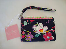 VERA BRADLEY SUPER SMART WRISTLET WALLET - RIBBONS PATTERN - NEW WITH TAG
