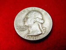 1947 WASHINGTON QUARTER NICE COIN!!    #9