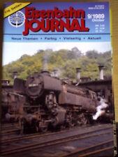 Eisenbahn Journal 9 1989 -Von der Vesuvio zum Pendolino