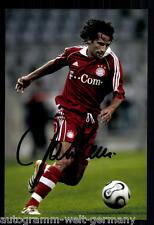 Hasan Salihamidzic Super AK Foto Bayern München 2006-07 (4) Orig. Signiert