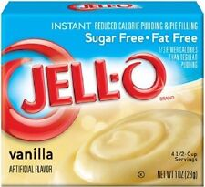 Jello Sugar Free Vanilla Instant Pudding & Pie Filling Mix