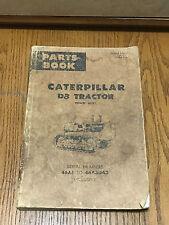CAT Caterpillar D8 Tractor Dozer Crawler Parts Catalog Power Shift