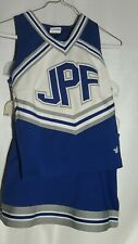 Varsity Spirit Girls Med  2 Piece Cheerleader Uniform JPF Royal Blue/White