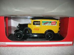1931 FORD MODEL A DELIVERY TRUCK 1:18 SCALE MOTOR CITY A TRUE COCA-COLA CLASSIC