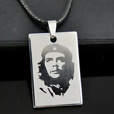 Cool Che Guevara Pendant Stainless Steel Necklace ST08