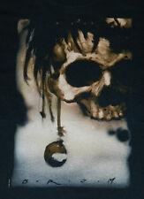 Skull Berries, Brom Art of Skull and Mini-Skull Black T-Shirt NEW UNWORN