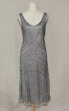 BEAD THE BAND SEQUIN 1920s INSPIRED GREAT GATSBY MODCLOTH DRESS SZ16 SLEEVELESS