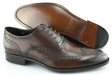 Men's TO BOOT NEW YORK 'Mac' Dark Brown Cap Toe Leather Oxfords Size US 8.5 - D