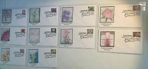 2021 Garden Beauty Sc.#5558 to #5567 Set of 10 First Day of Issue