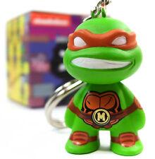 Kidrobot TMNT SHELL SHOCK KEYCHAIN MICHELANGELO Teenage Mutant Ninja Turtles