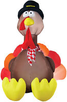 HALLOWEEN THANKSGIVING TURKEY  INFLATABLE AIRBLOWN  6 FT