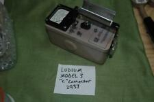 Ludlum Model 3 Survey Meter With Countspro System Installed Iphone Connectable
