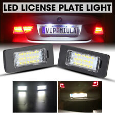 License Plate Light White LED Fit For BMW E60 E61 E70 E90 E91 E92 1 3 5 X Series