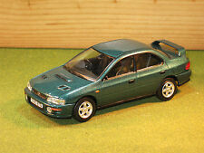 Vanguards VA12102 Subaru Impreza Turbo in Green 1/43rd scale