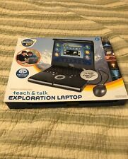 Discovery Kids Teach & Talk Exploration Laptop Black With Mouse