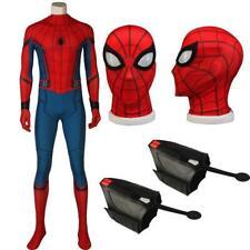 Costume da Spiderman Parker vestito completo professionale suole in gomma adulti