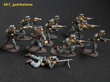 Painted Plastic German Airfix Toy Soldiers