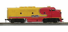 HO MTH M&M's F-3 Non-Powered A-Unit for 2 Rail Track 81-2004-3