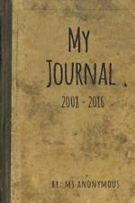 My Journal by Ms. Ms. Anonymous (2016, Paperback)