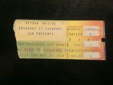 Todd Rundgren Ticket Stub 12/31/1978 Chicago Uptown   WHILE SUPPLIES LAST!