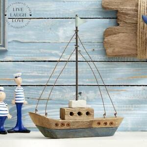 Rustic Driftwood Sailboat