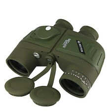 7x50 Military Powerful Binoculars Rangefinder with Digital Compass Telescope
