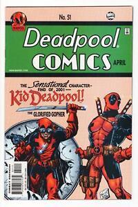 DEADPOOL Vol. 2, #51 Kid Deadpool DARICK ROBERTSON 2001 VF/NM high grade