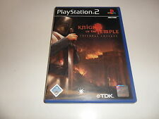 PlayStation 2 Knights of the Temple-Despedazador Crusade