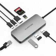 LENTION Multiport USB C Hub to USB 3.0 Ethernet HDMI AV Adapter for iMac MacBook