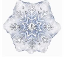 "Frozen Snowflake 18"" Balloon Birthday Party Decorations"