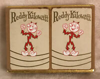 Reddy Kilowatt on the wire Playing Cards Vintage Complete~All Jokers & Box~1 New