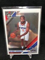 Kawhi Leonard 2019-20 Donruss Optic Base Card #30 Los Angeles Clippers B17