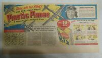 Kix Cereal Ad: Plastic Planes Premiums! from 1940's from Size: 7.5 x 15 inches