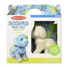 Melissa And Doug Decoupage Puppy Craft Set NEW Decorate Kids
