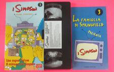 VHS film I SIMPSON 3 PRIMA STAGIONE Lisa sogna il blues Il richiamo(F107*)no dvd