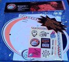 NOS BMX Mongoose Bike Racing Plate & Tattoo Set