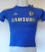 CHELSEA 2012/13 HOME  SHIRT BY ADIDAS SIZE BOYS 8 YEARS  BRAND NEW WITH TAGS